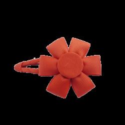 Pinza flor rojo