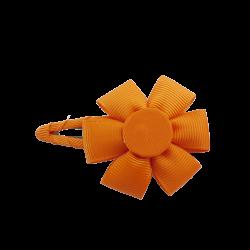 Pinza flor naranja