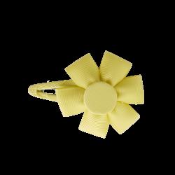 Pinza flor amarillo