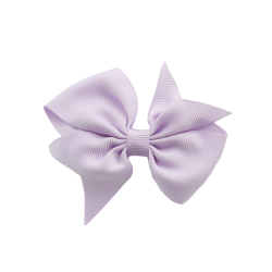 Pinza lazo mediano pico lila