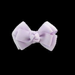 Pinza lazo mediano doble lila
