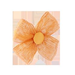 Coletero lazo yute naranja