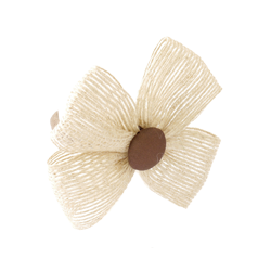Coletero lazo yute chocolate