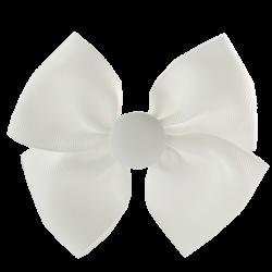 Coletero lazo mariposa blanco