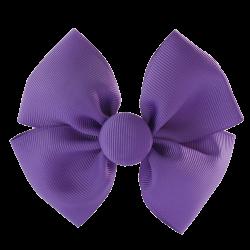 Coletero lazo mariposa morado