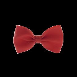 Coletero lazo pajarita rojo