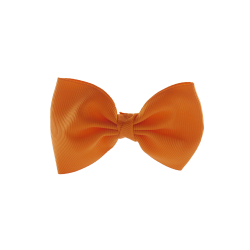 Coletero lazo pajarita naranja