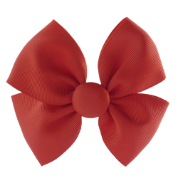 Pinza lazo mariposa rojo