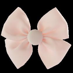 Pinza lazo mariposa rosa