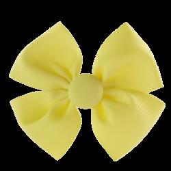 Pinza lazo mariposa amarillo