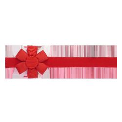 Felpa fina flor rojo