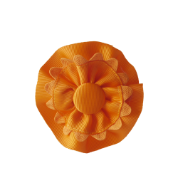 Coletero rosetones naranja