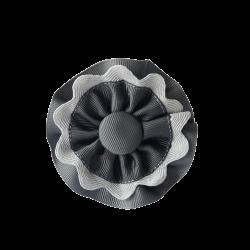 Coletero rosetones gris...
