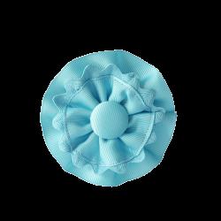 Coletero rosetones turquesa