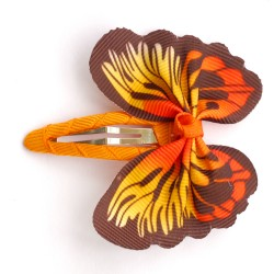 Aplique mariposa naranja