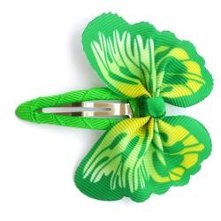 Aplique mariposa verde