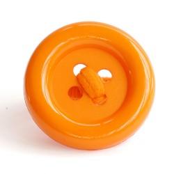 Botón acrílico grande naranja
