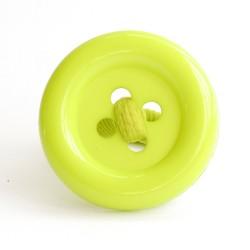Botón acrílico grande pistacho