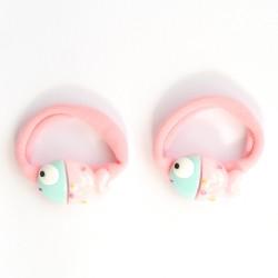 Coleteros pececitos rosa