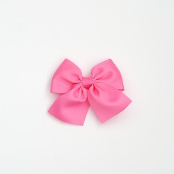 Lazo mediano cola rosa chicle
