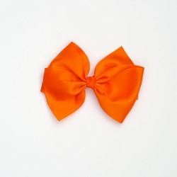 Lazo grande nudo naranja