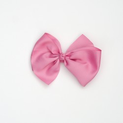 Lazo grande nudo rosa palo
