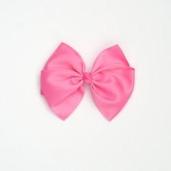 Lazo grande nudo rosa chicle