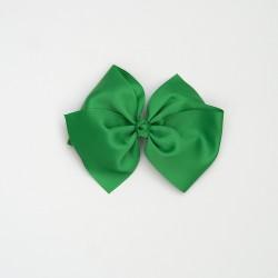 Lazo grande nudo verde