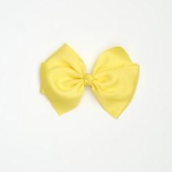 Lazo grande nudo amarillo