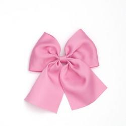 Lazo mediano cola rosa palo