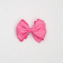 Lazo doble ondulina rosa...