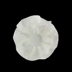 Coletero rosetones blanco