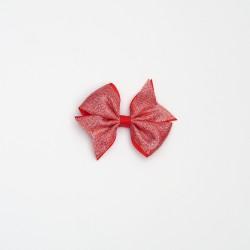 Pico glitter rojo