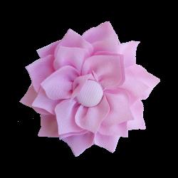 Flor de tela rosa