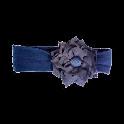 Flor tela marino