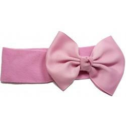 Felpa ancha pajarita rosa palo
