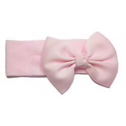 Felpa ancha pajarita rosa