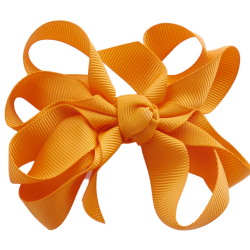 Pinza lazo curly naranja