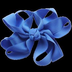 Pinza lazo curly azulón